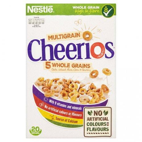 Nestle Cheerios Cereal (600g) was £3.19 now £1.59 @ Tesco