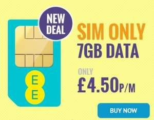 Last chance - closing today at NOON! EE 7GB UNLIMITED MINS, FREE ROAMING & BT SPORT SIMO - poss. £3.90pm after cashback 12M @ e2save.co.uk (reg. price £16.99pm) - £203.88