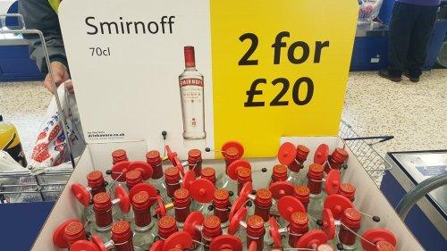 Smirnoff Vodka 70cl 2 for £20 instore @ Tesco national