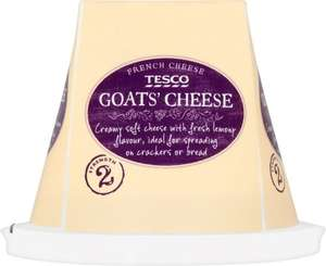French Fresh Goats Cheese (150g) Half Price was £2.00 now £1.00 @ Tesco