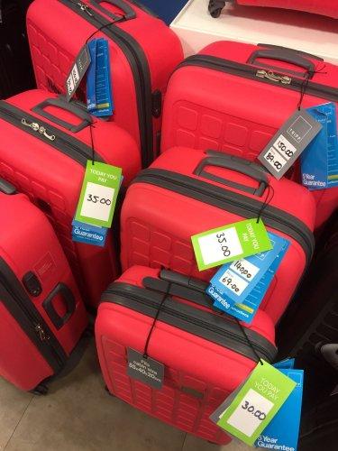 Tripp Medium Suitcase Was £140 then £69 now £35 instore @ Debenhams Ilford