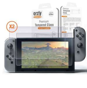 Nintendo Switch Owners get yourself a Premium Tempered Glass Screen Protector! or 2 for £9.99 delivered -  Dispatched from and sold by G-Hub / amazon
