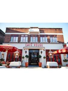 Virgin Experience Days Café Rouge Three Course Meal with Sparkling Wine for Two from very £34.99