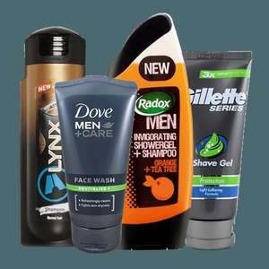 Offers on Mens Products includes...better than half price/buy1 get 2nd half price...starting from £0.98 (free c+c/ free delivery for members) easy sign up at checkout...see description @ Superdrug
