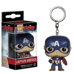 Pocket Pop Keychain  Captain America  + Others £3.00 @ Smyths toys (Instore only)