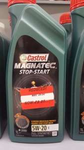 Castrol motor oil £2.25 @ Asda - hartlepool