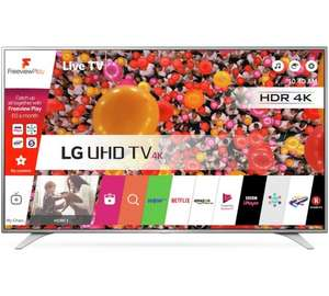 LG 49UH650V 49 Inch Web OS SMART 4K Ultra HD TV with HDR  £422.10  Argos with code