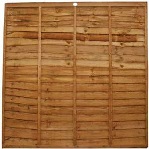 Budget fence panels 6' x 6' £15.54 @ Selco BW - Free c&c