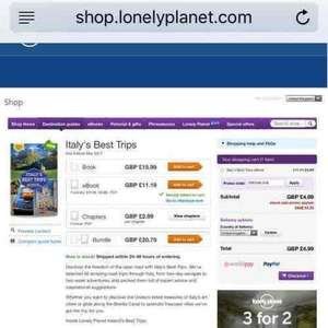 Lonely Planet Italy's Best Trips eBook - £4.99