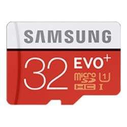 Samsung 32GB EVO+ MicroSD Card and Adaptor £12.47 Delivered @ BT Shop