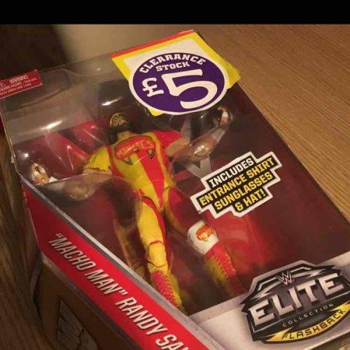 WWE Elite figures £5 instore @ Smyths Fort Kinnaird