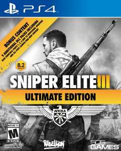 Amazon.co.uk PS4 Sniper Elite 3 Ultimate edition £16.89 PRIME / £18.88 non-Prime (sold by games-n-console-land)