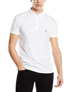 French Connection Men's Basic Sneezy white Polo Shirt Size S,M,L,XL £7.50 (Prime) / £11.49 (non Prime) at Amazon & free returns