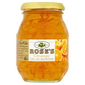 Rose's Orange or Lime Marmalade 454 grams instore @ B&M - 89p