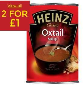 HEINZ-  2 FOR £1 OFFERS AT ASDA - TINNED BEANS, SOUP, PASTA