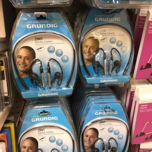Grundig earphones in Poundland (Hammersmith). £1 going for £7-10 on Amazon