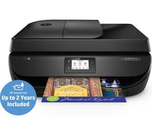 HP OfficeJet 4658 All-in-One Wireless Inkjet Printer with Fax including TWO YEARS of printing 100 full colour or mono pages per month reduced by £70 to £59.98 at PC World ** No referral codes permitted **