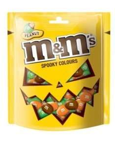 Halloween M&Ms 165g bag 25p @ Tesco - Abingdon