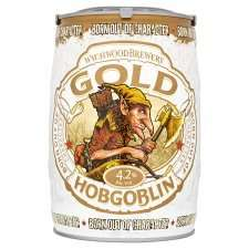 Hobgoblin Gold Mini Keg (5l) Half Price - £7.50 instore @ Tesco Slough