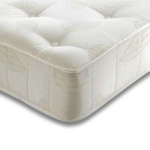Single pocket sprung mattress £82.99 double £122.99 @ Wayfair.co.uk