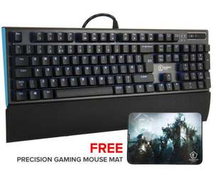 Element Gaming Beryllium Mechanical Kailh RED Switch Gaming Keyboard (Individual LED lit keys) + Free Mousemat £39.99 Delivered @ Ebuyer
