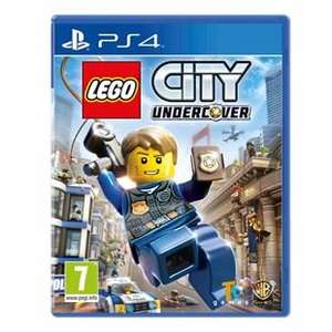 "Pre-Order ""LEGO City Undercover"" [Nintendo Switch] [PS4] [Xbox One] £34.99 (with Voucher) & Free Exclusive Airplane Minifigure at Smyths Toys"