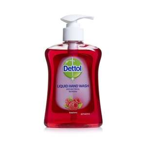 Dettol Liquid Hand Wash 250ml half price now 75p @ wilko (3 flavours-see below) online & instore , free c&c