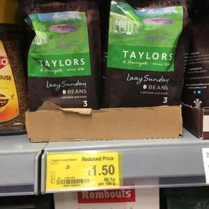 Taylor's lazy Sunday coffee beans £1.50 - ASDA