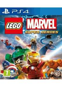 Lego Marvel Super Heroes (PS4) only £13.99 @ base.com