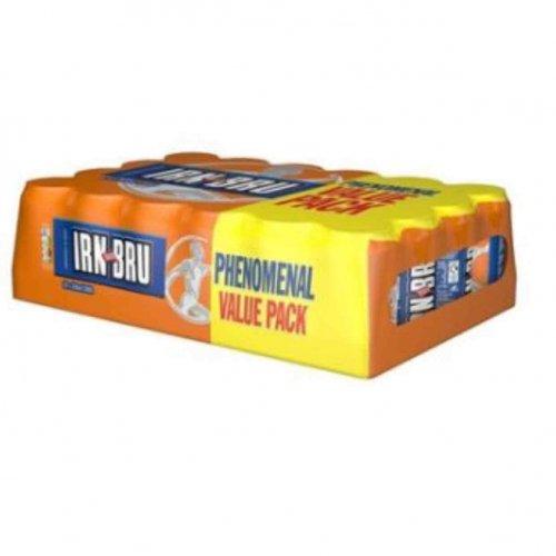 Irn Bru original / sugar free 24pk £5 @ Asda