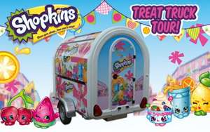 Shopkins Treat Truck Tour UK with Free samples and give aways