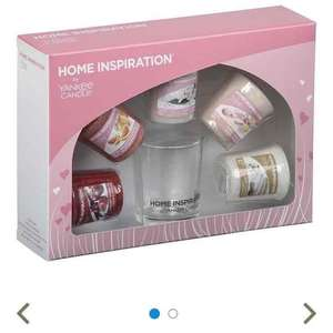 Yankee candles home inspiration gift set at Tesco Direct for £6