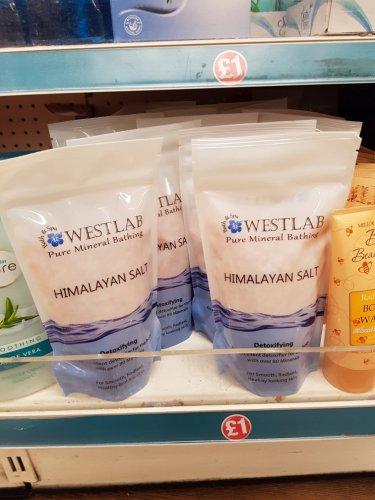Westlab Himalayan pink Salt 500 gms £1 @ Poundland Mitcham