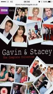 Gavin & Stacey complete collection & Christmas special DVD (used) £1.99 (Music magpie)