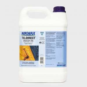 NIKWAX TX Direct 5 Litre Was £45 now £18 at Millets
