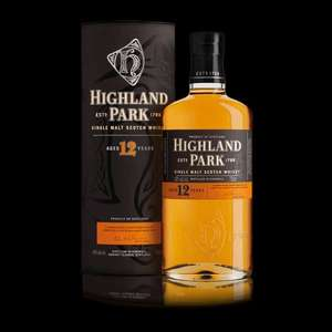 Highland Park 12YO single malt Scotch whisky £25 per bottle or 2 for £40 with code @ Amazon