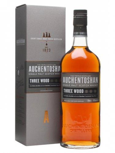 Auchentoshan Three Wood Malt Whisky, 70 cl £35 Amazon