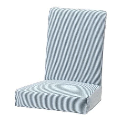 HENRIKSDAL chair cover blue/white for £5 down from £20 @ IKEA Tottenham / Edmonton (for IKEA FAMILY members)