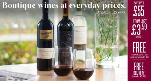 Laithwaites Wine 12 for £47.88 - £3.99 a bottle deal