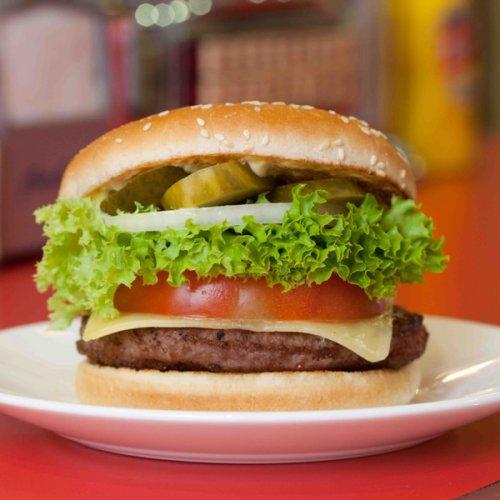 Free Regular Burger at Ed's Diner