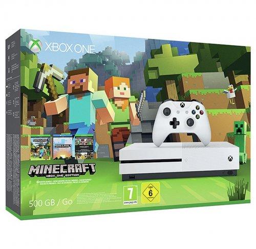 Xbox One S 500GB Console Minecraft Favourites Bundle - £199.99 @ Argos