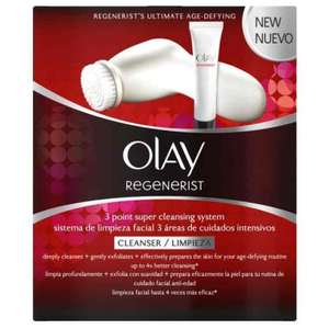 Olay Regenerist 3 Point Super Cleansing System Exfoliating Face Wash & cleansing exfoliating face brush £16.45 prime / £20.44 non prime Sold by M&B Bargains and Fulfilled by Amazon