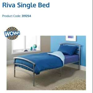 single metal bed frame £19.99 @ B&M instore Willerby, Hull