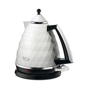 DeLonghi Brillante Kettle - White - RRP £55.00 - SAVE 18% £45 @ DEBENHAMS - Free c&c