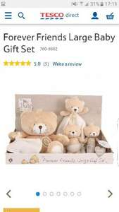 Forever Friends Large Baby Gift Set £7.50 Tesco Direct