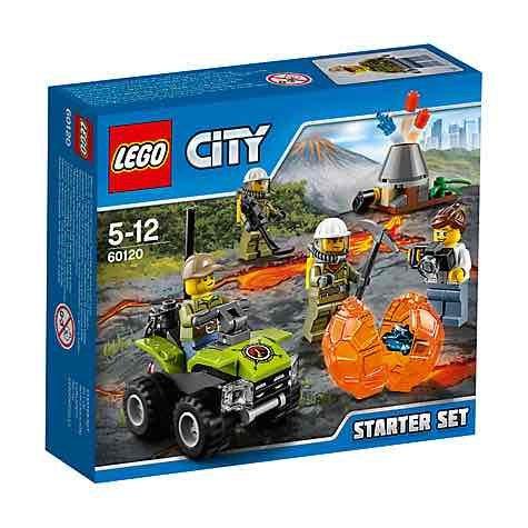 Lego City volcano starter set £5 @ John Lewis instore and online - £2 c&c