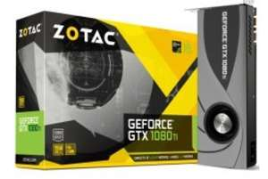 "Geforce GTX 1080Ti ""Blower Edition"" 11264MB GDDR5X PCI-Express Graphics Card (ZT-P10810B-10P) cheapest and free delivery (pre order) £689.99 @ Overclockers"