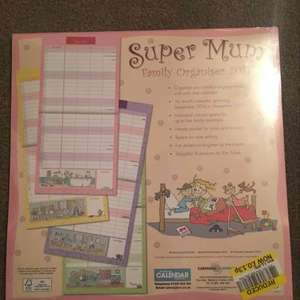 Calendars/Family organisers 13p instore @ Tesco