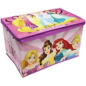 Disney Princess storage £7 each 2 for £10 @ the works free c&c £2.99 delivery free over £20