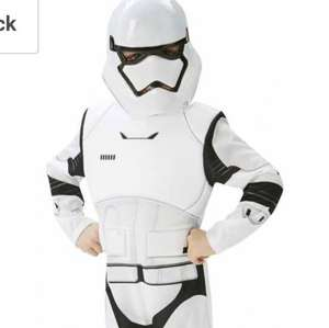 Star wars Stormtrooper dress up age 5 - 6 and 9 -10 £7.00 Prime / £10.99 Non Prime @ amazon (also age 7 - 8 on a 2-4 week delivery delay)